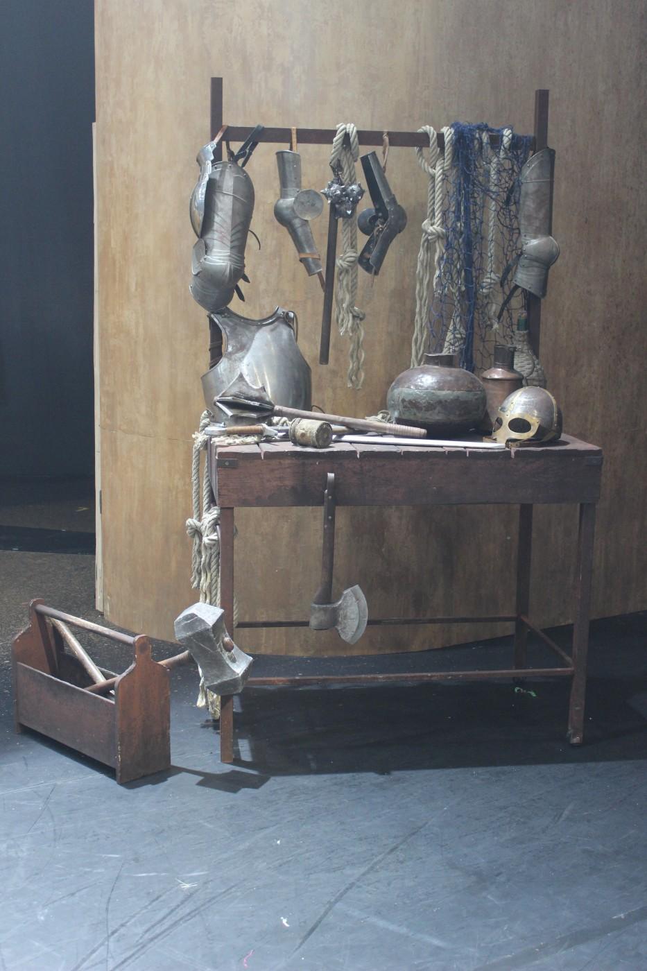 photo accessoires armes légende du roi arthur