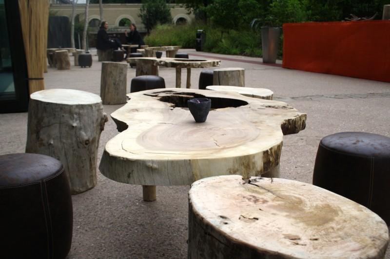 photo Scénographie Musée du Quai Branly - Les Dogons-table