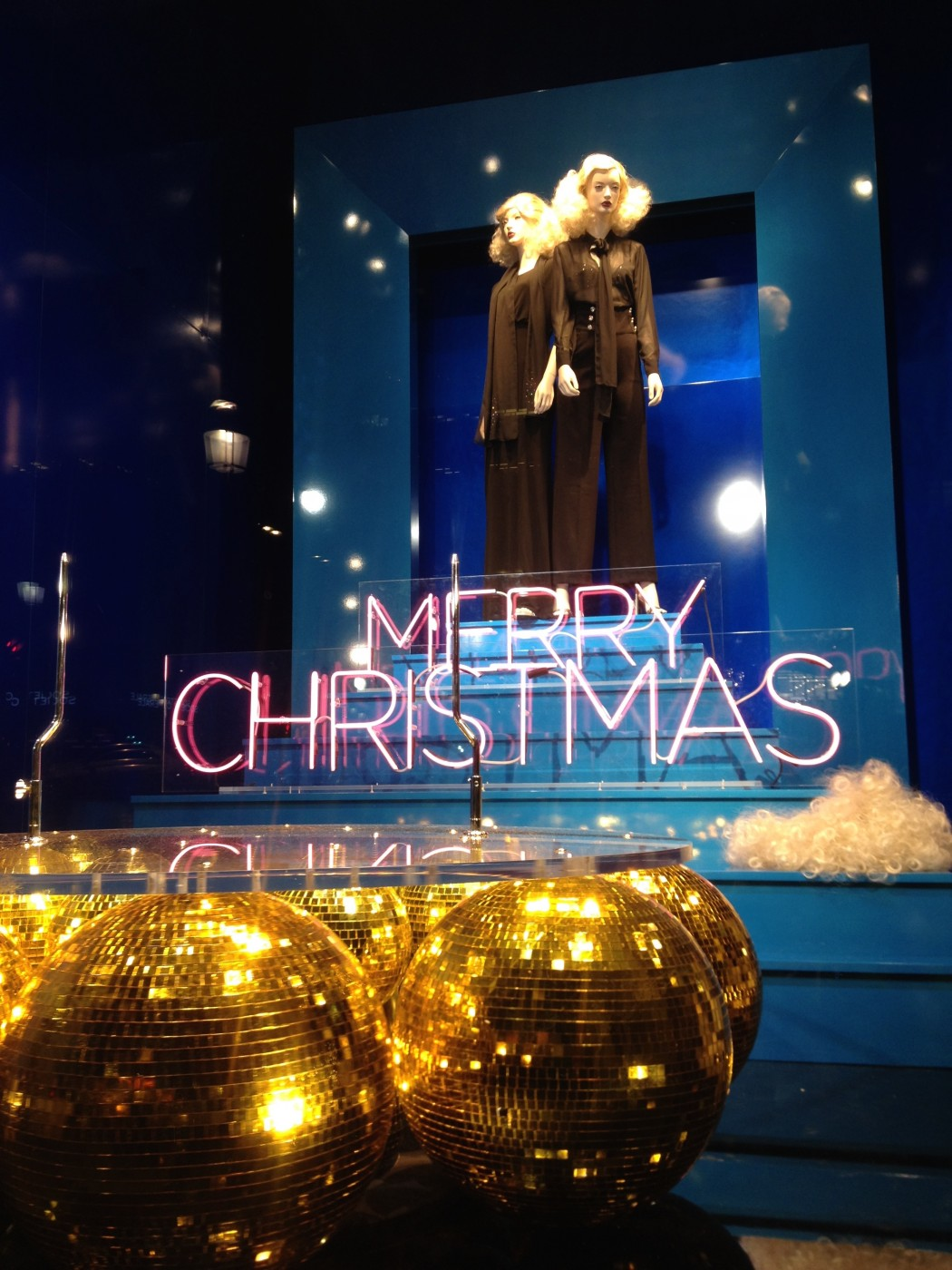 photo  Vitrine Morgan - Merry Christmas 2014 or