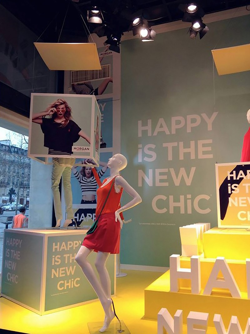 photo Vitrine Morgan - Happy Chic 2013 -robe